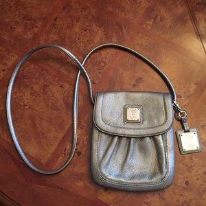 Silver Tignanello crossbody bag